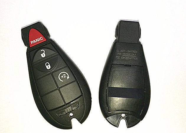 Jeep Grand Cherokee 2011-2013 3+1 Button Dodge Ram Remote Key FOBIK FCC ID IYZ-C01C