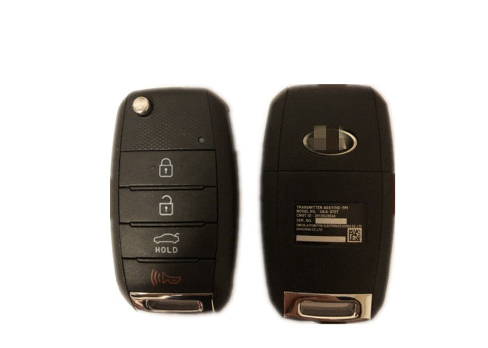 Car Remote KIA Car Key FCC ID OKA-870T 4 Button 433 Mhz For KIA Forte